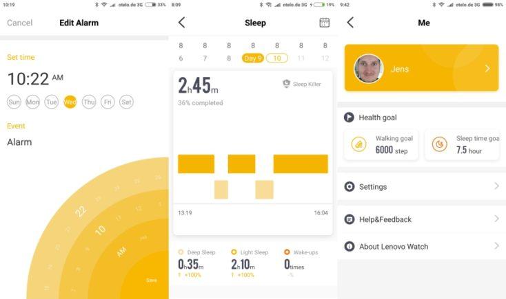aplicación para monitorizar el sueño