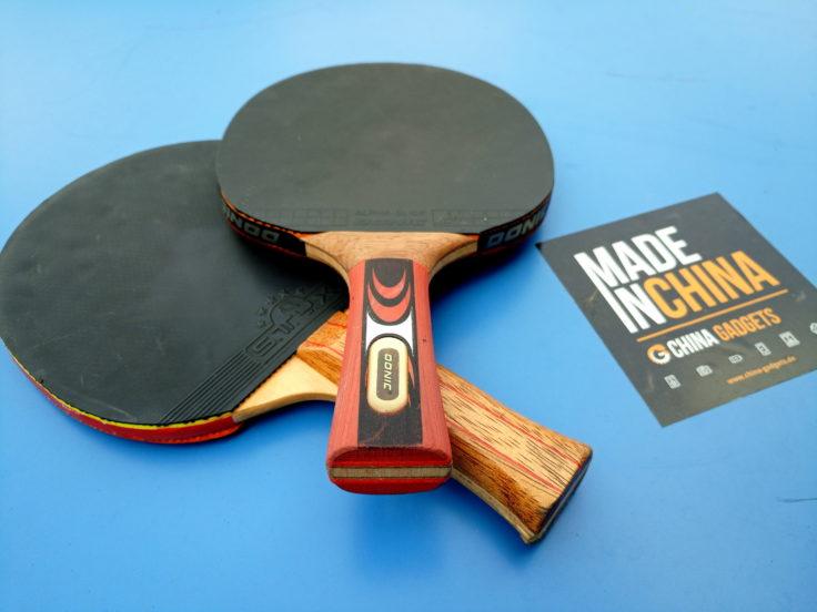 foto de raquetas de ping-pong con buena calidad