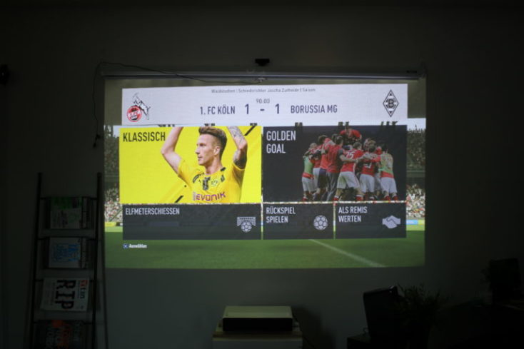 jugamos a Fifa 17 con el proyector