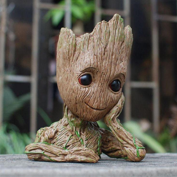 Baby Groot maceta o portalápices