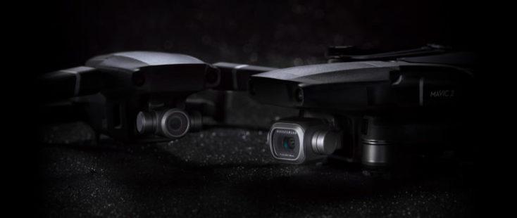 DJI Mavic 2 Zoom (izquierda) und Mavic 2 Pro (derecha)