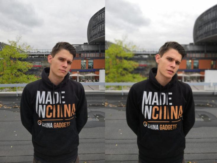 foto de prueba izquierda modo normal, derecha modo retrato