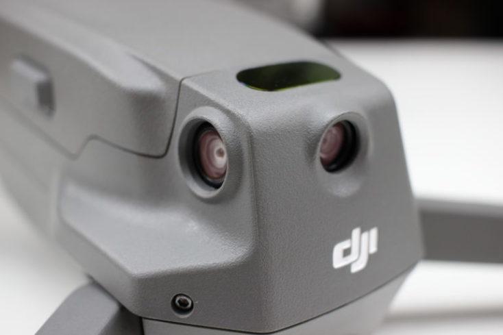 Sensores parte trasera del drone