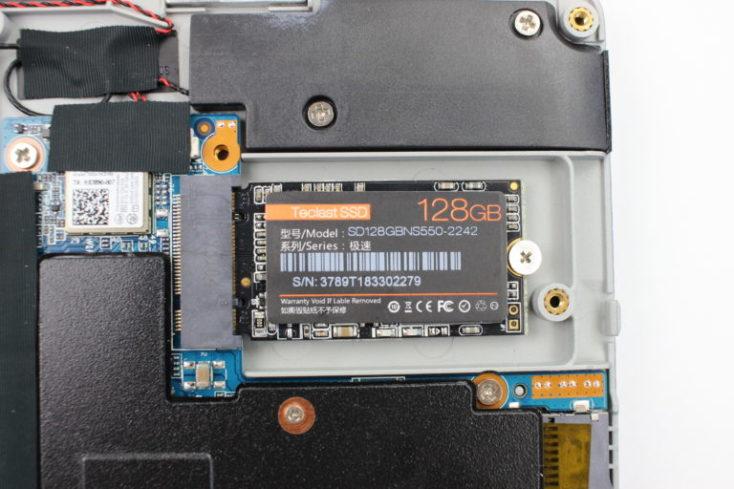 foto de la SSD de 128GB