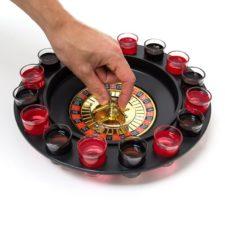 juego de la ruleta con chupitos