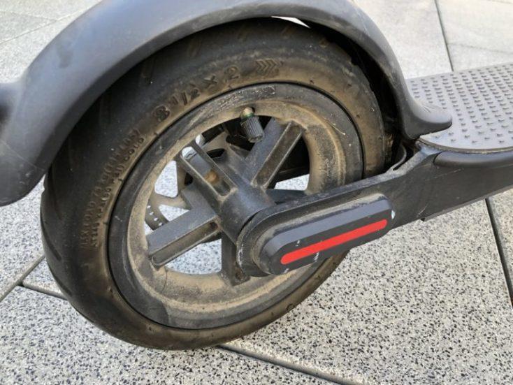 rueda trasera del Xiaomi M365