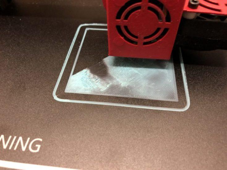 Lámina de la cama calefactora de la impresora
