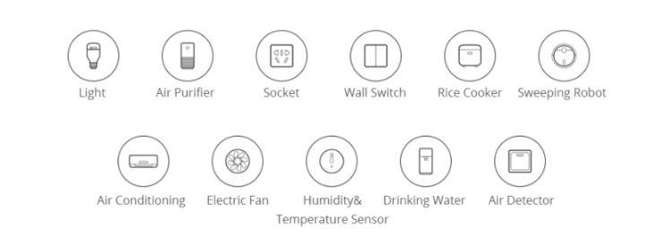 diferentes funciones para Xiaomi Smart Home
