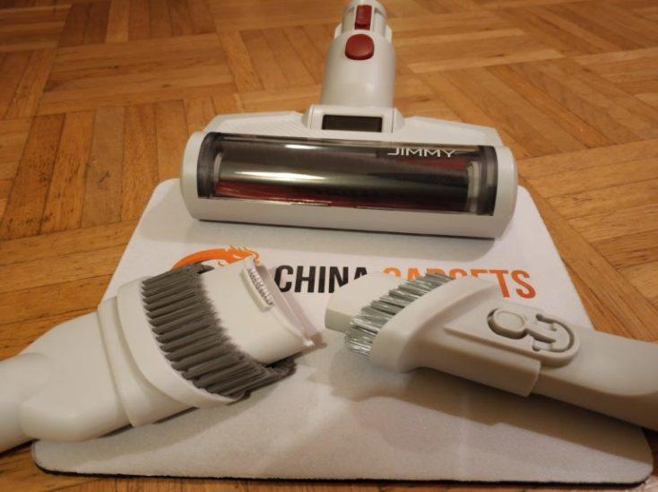 2 cepillos para diferentes usos y cabezal