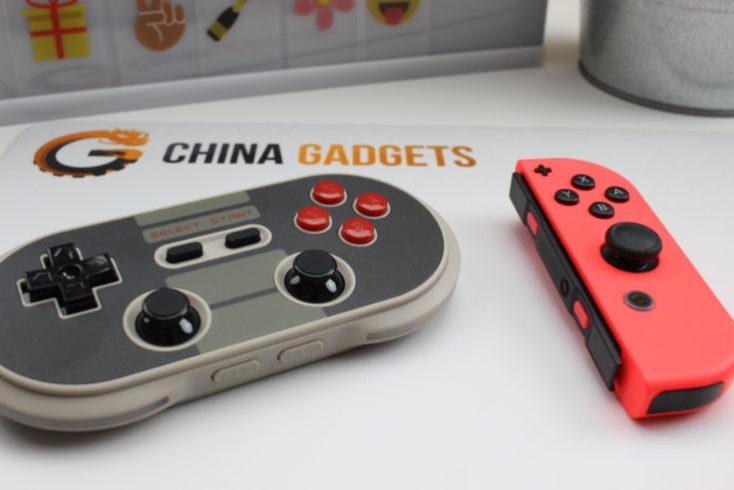 mando NES30 Pro y mando de Nintendo Switch