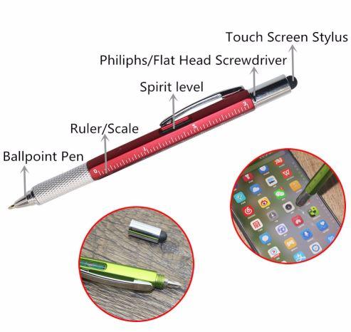 distintas funciones del bolígrafo