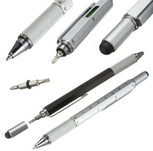 bolígrafo 6 en 1