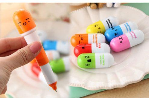 distintos modelos del bolígrafo