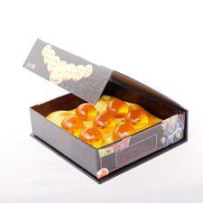 bolas de dragón en la caja