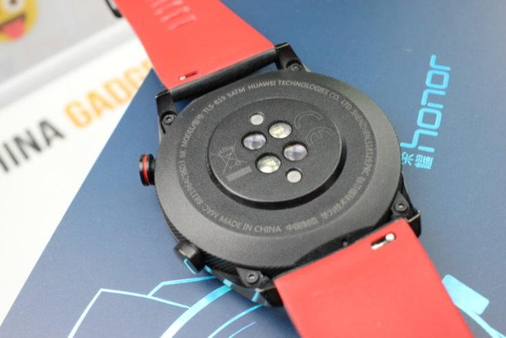parte de abajo del smartwatch