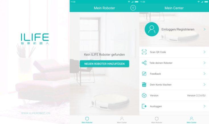captura de pantalla de la app