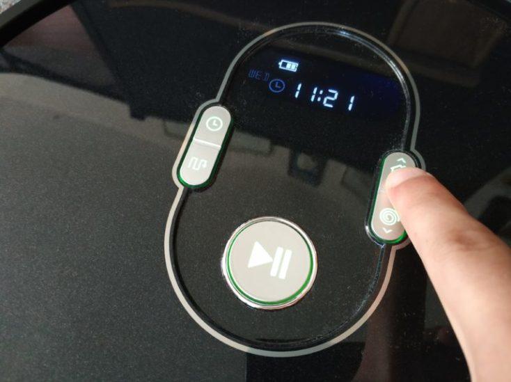 botones de la pantalla