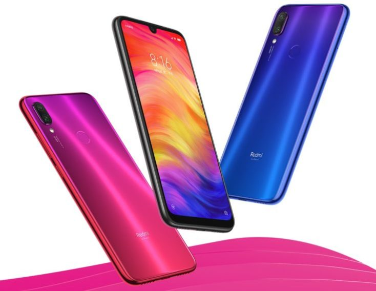 diferentes colores del Redmi Note 7