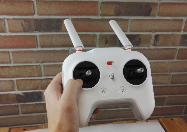 mando del drone