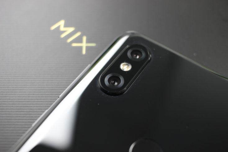 cámara principal del Mi MIX 3