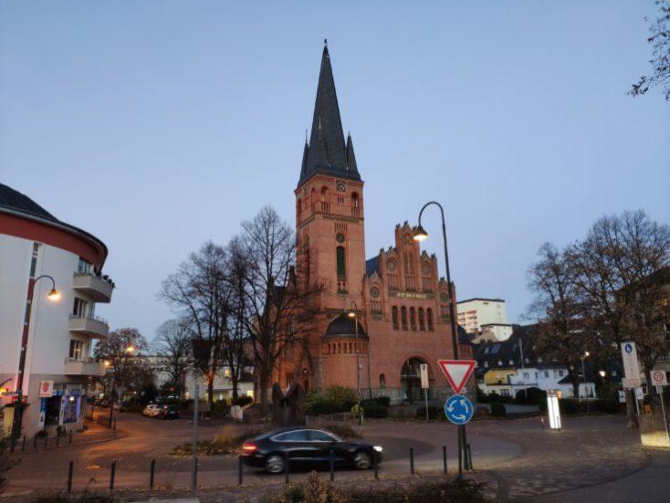 foto de prueba de una iglesia con el Mi Mix 3