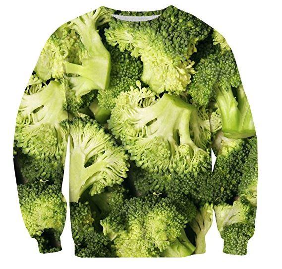 sudadera de brócoli