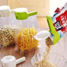 ejemplos de uso de este clip para bolsas con tapa