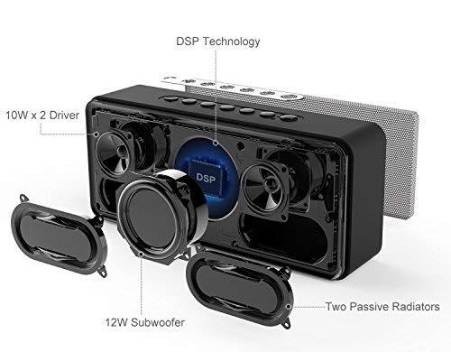 Doss Soundbox XL Altavoz Bluetooth interior
