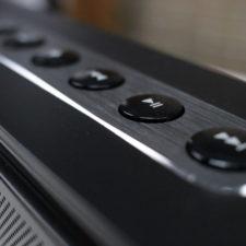 Botones del altavoz bluetooth Doss Soundbox XL