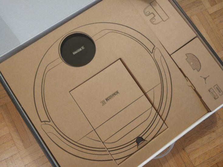 paquete del Robot aspirador ECOVACS DEBOT OZMO 930