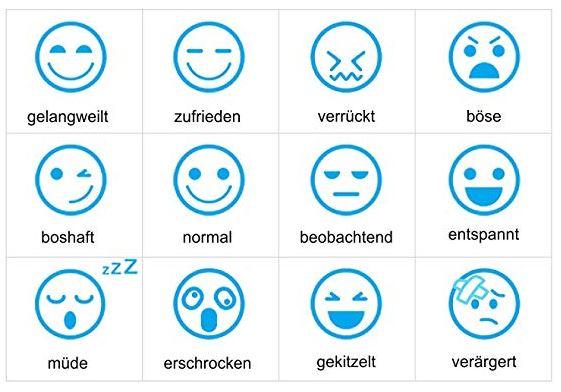 distintas interacciones emocionales del hueso inteligente