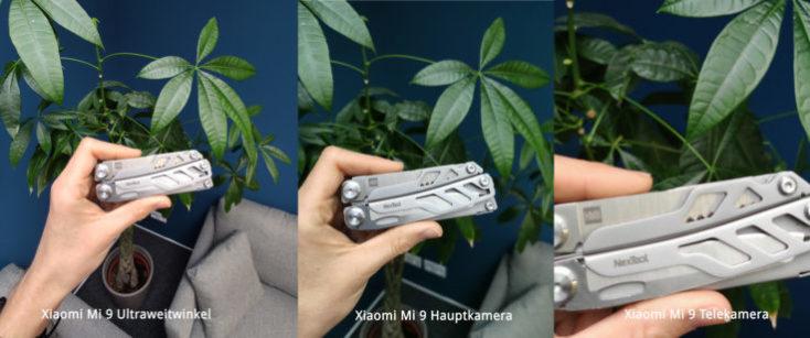 distintas fotografías con distintos modos de la cámara del mi 9