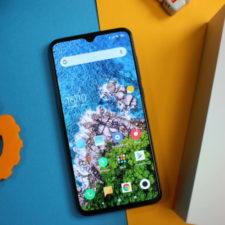 Xiaomi mi 9 visto desde arriba