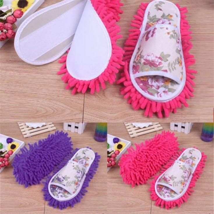 zapatillas de andar por casa con suela de mopa