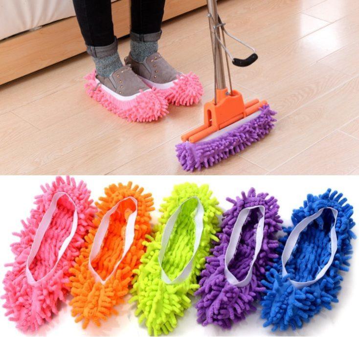 zapatillas de andar por casa como mopa en diferentes colores