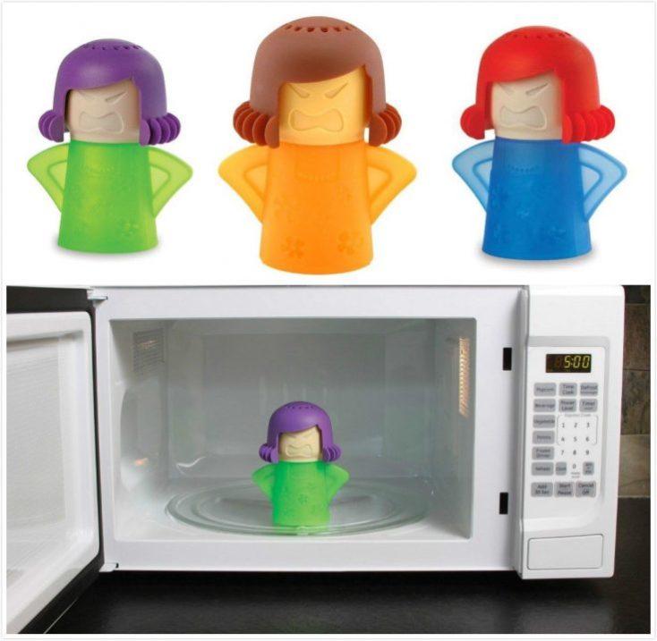 angrz mama limpiador para microondas diferentes colores