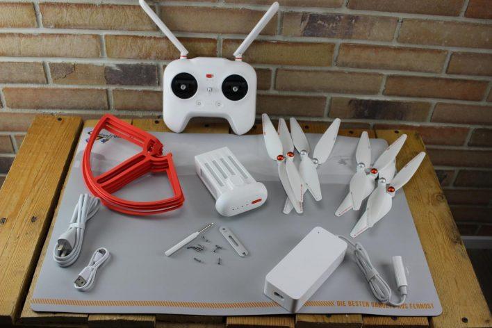 Unboxing del Xiaomi Mi Drone, accesorios