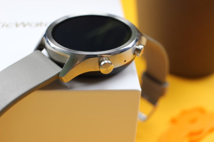 botones del ticwatch c2