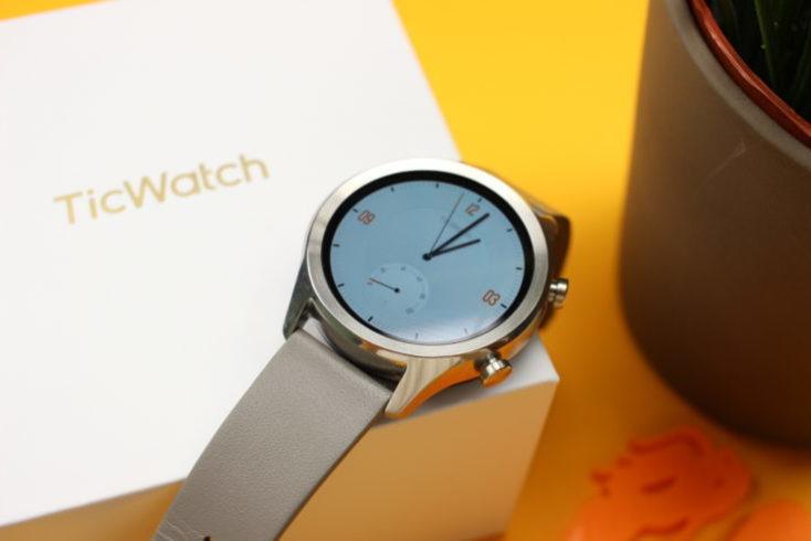 Ticwatch C2 y la caja