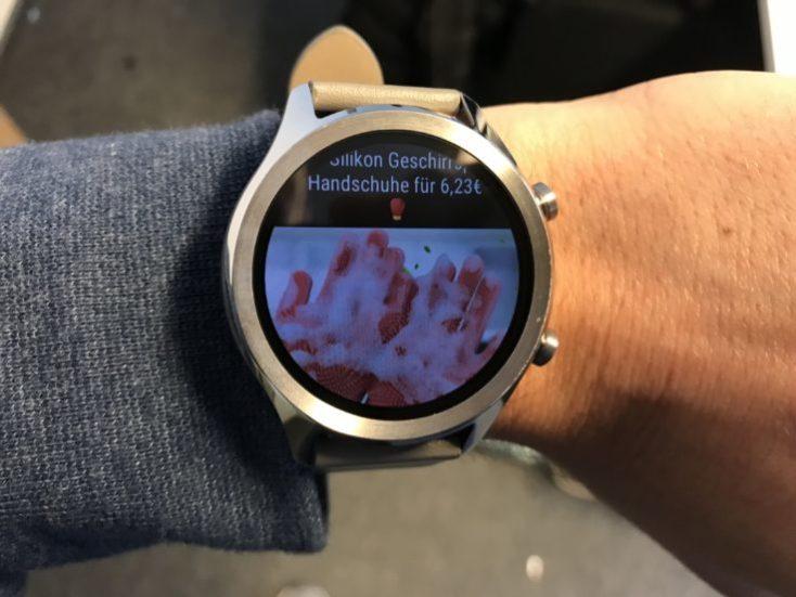 Aviso de notificaciones en el Smartwatch