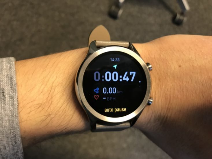 Pausa automática del contador cuando paramos de correr