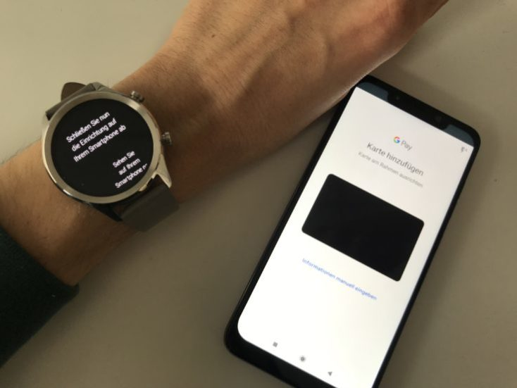Ticwatch C2 con NFC y Google Pay