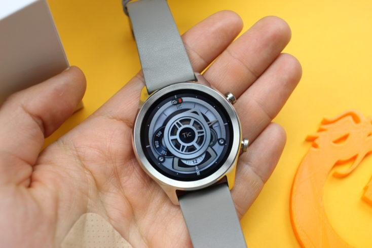 Pantalla del Ticwatch C2