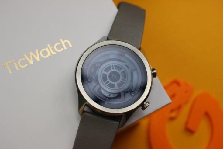 Watchface mecanismo reloj Ticwatch C2