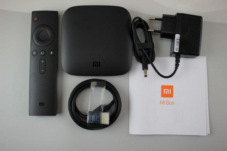 accesorios incluidos con la tv box