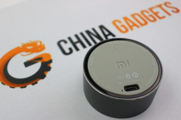Puerto USB del mini altavoz Xiaomi Mi Speaker