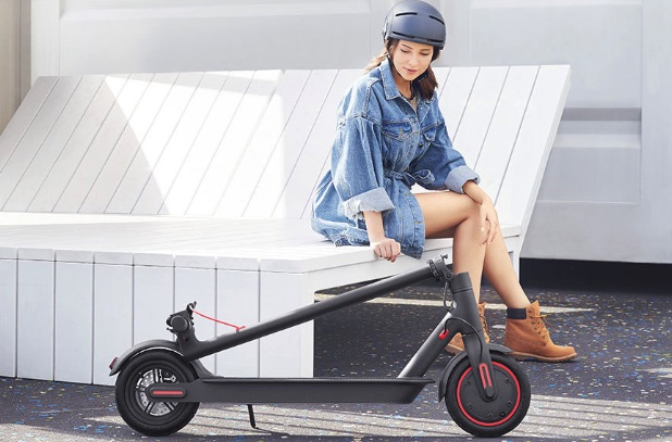 Mi Electric Scooter plegado