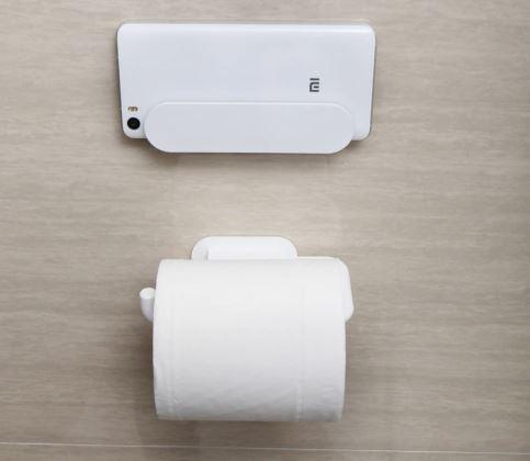 soporte para el móvil y para el papel higiénico de Xiaomi