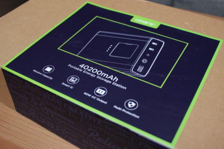 Caja de la Batería externa Omars de 40200 mAh