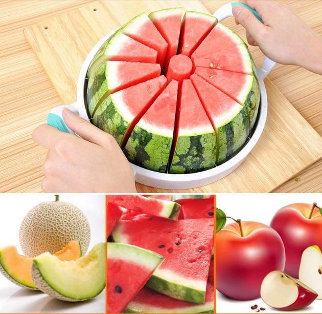 cortador de sandías y otras frutas